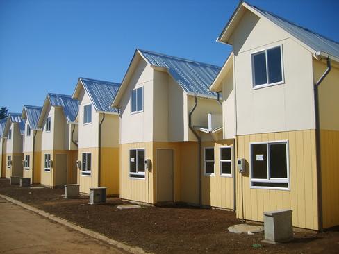 Serviu asegura que viviendas sociales en 5 centenario - Fotos de viviendas ...